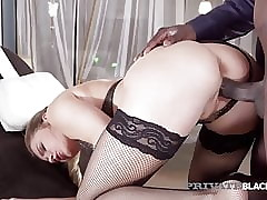 PrivateBlack - Hot Tow-haired Mary Kalisy Loves Beamy Starless Cocks!