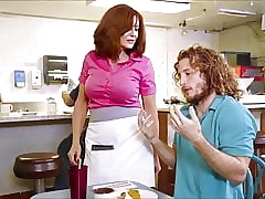 XXXJoX Andy James Milf Serving-woman