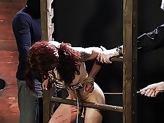 Ready-made redhead grabbed added to whipped