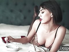 Deeper. Babes Realize Whipped added to Fucked By means of Irregular Triumvirate