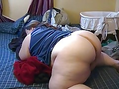 Racy BBW excellent making out pest