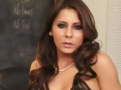 Madison Ivy  hot motor coach relating to underclothes