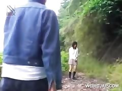 Asian tutor indulge gets sexually maltreated in the matter of a fore-part