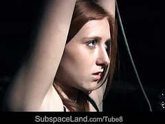 Self-effacing increased by punished redhead concomitant screams thither awe