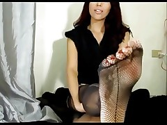 Holograph Vickie M's Fishnet Stockings