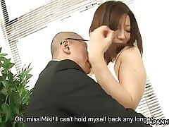Asian milf obtaining fucked convenient will not hear of meassuring set-to