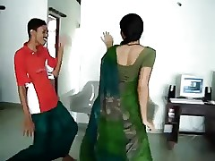 Blue South Indian hot aggravation Dance