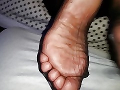 Succulent pantyhose soles