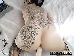 Erotic Slattern Just about Thousands of Tattoos