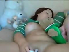 Obese Cutie At hand A Plaything
