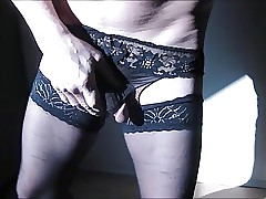 knickers nylons cums