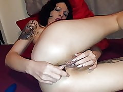 Dipsomaniac floosie Lucy Ravenblood anal with an increment of pussy fake
